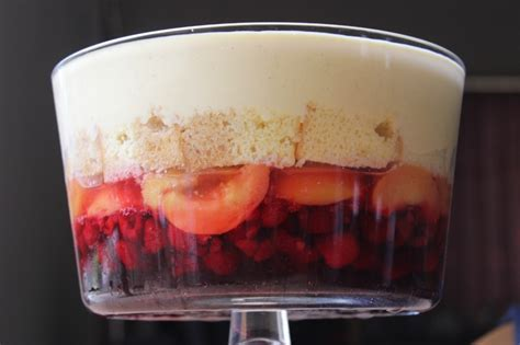 Peach Melba Trifle   A Recipe   The Sugar Hit