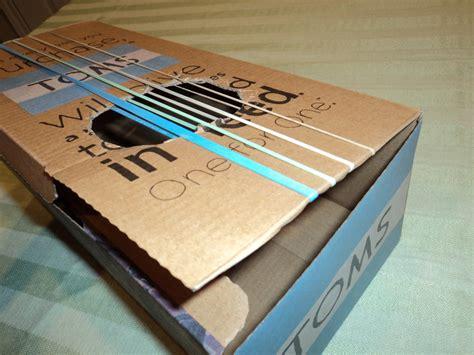 homemade guitar  shoebox homemade ftempo