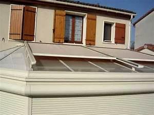 Store Anti Chaleur Pour Veranda : store exterieur de toiture veranda ambiance youtube ~ Melissatoandfro.com Idées de Décoration