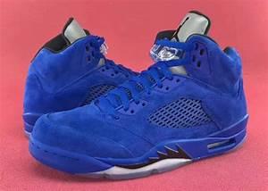Release Date: Air Jordan 5 Blue Suede • KicksOnFire.com