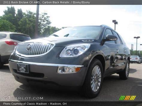 Buick Enclave Cx by Carbon Black Metallic 2011 Buick Enclave Cx Awd