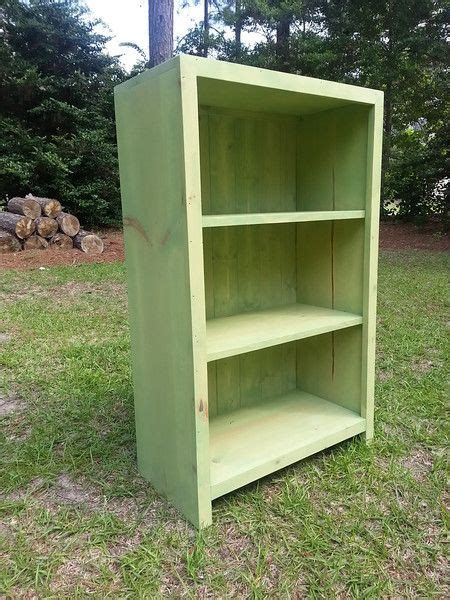 Shabby Chic Bookcases For Sale by Rustic Farmhouse Bookcase Stained In Quot Winter Moss Quot Just