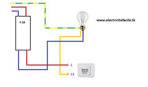 branchement le avec detecteur schema electrique sch 233 ma de montage electrique quot 233 clairage automatique quot
