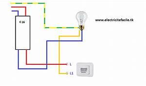Schema Detecteur De Mouvement : sch mas lectriques sch ma de cablage electrique ~ Melissatoandfro.com Idées de Décoration