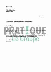 Eurodatacar Non Paiement : lettre de r clamation du paiement des jours de cong s non pay s ~ Medecine-chirurgie-esthetiques.com Avis de Voitures