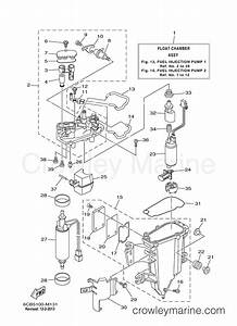 fuel injection pump 1 2013 yamaha outboard 300hp f300xca With of 1999 v225tlrx yamaha outboard fuel injection pump diagram and parts