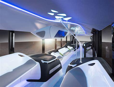 mercedes benz future bus concept interior car body design