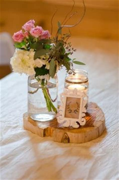 mason jar centerpieces images wedding