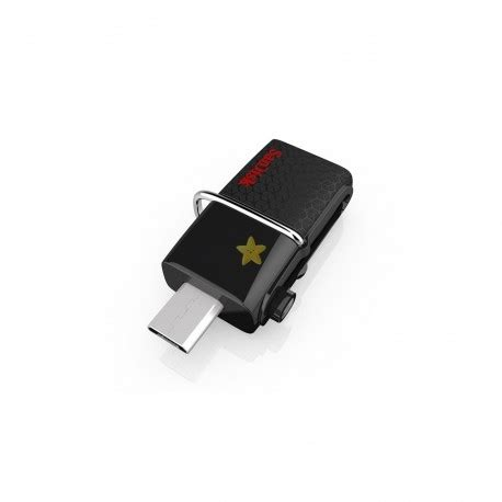 Sandisk Flashdisk Otg 32gb Usb 3 0 sandisk 32 gb ultra dual usb 3 0 otg drive ystarshop