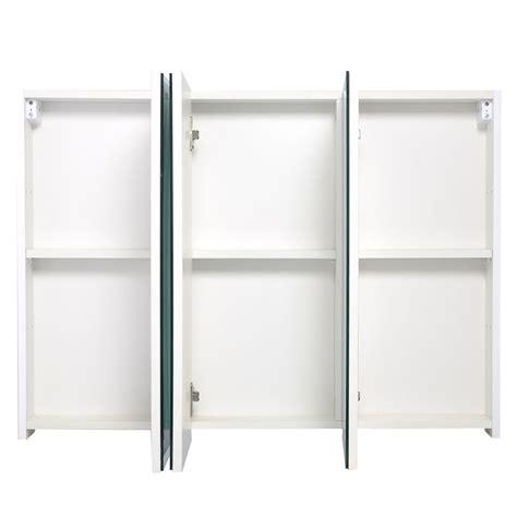 mirror medicine cabinet door 3 mirror door 36 quot 20 quot wide wall mount mirrored bathroom
