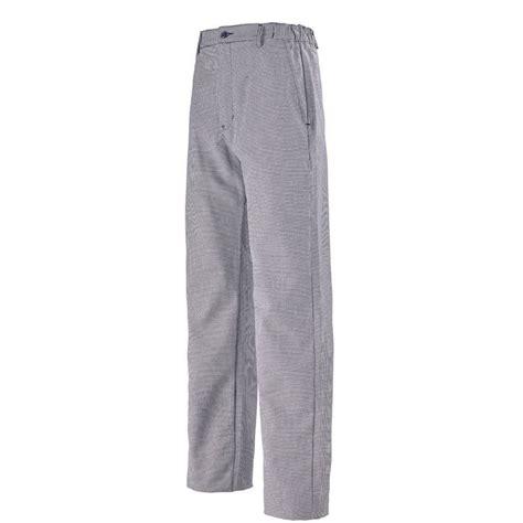 pantalon pied de poule cuisine pantalon pied de poule pour homme lafont pantalons de