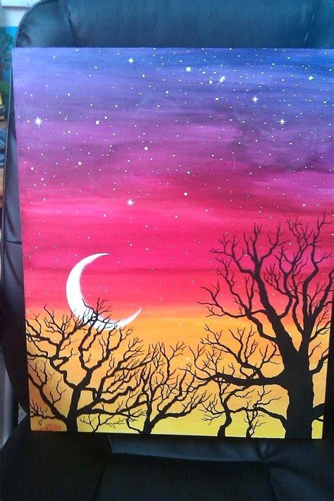 easy paintings easy acrylic painting ideas alternatux com