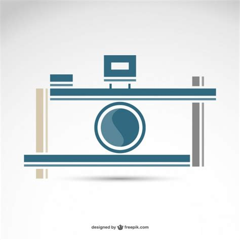 photography retro camera logo  vector  vector