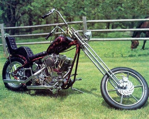 Old School Harley Choppers