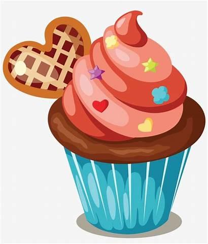 Cupcake Cupcakes Clipart Cake Birthday Muffin Cakes