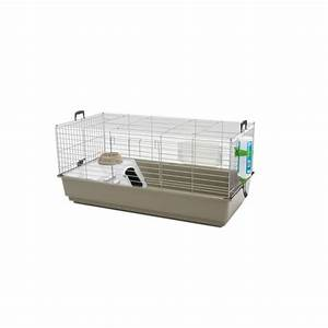 Cage lapin cobaye Nero 3 de luxe Lounge Savic : Cages
