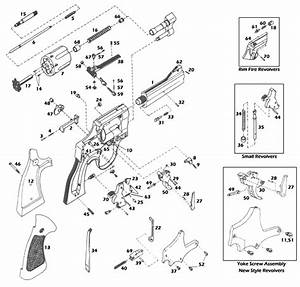 Smith  U0026 Wesson U00ae J-frame 649-1 Schematic