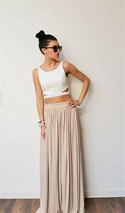 Robe Longue Style Boheme : jupe longue boheme chic ~ Dallasstarsshop.com Idées de Décoration