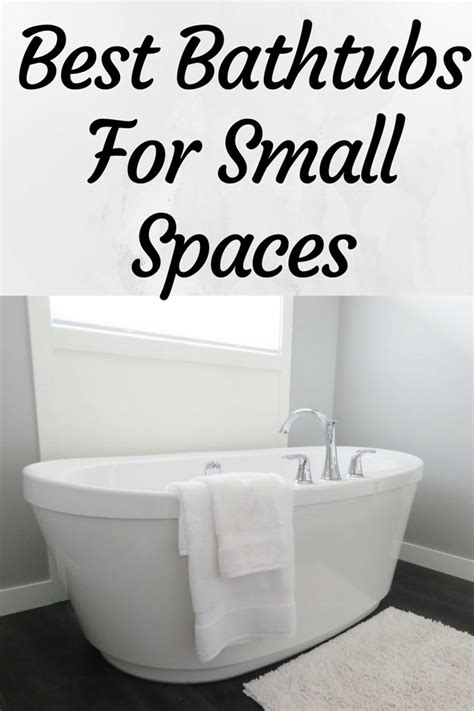 How To Fit A Bathtub In A Small Bathroom by Best Small Bathtubs 2019 Small Spaces Small Bathtub