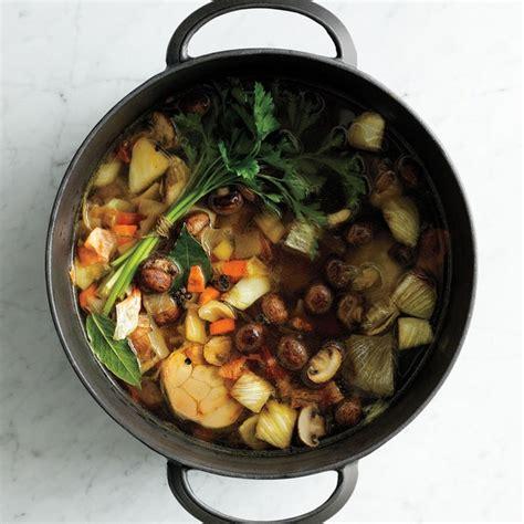 vegetable stock recipe epicuriouscom