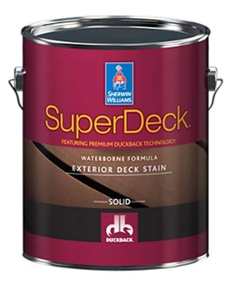 Sherwin Williams Superdeck Stain by Finishes Sherwin Williams