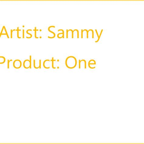Sammy Products – Clarity Project
