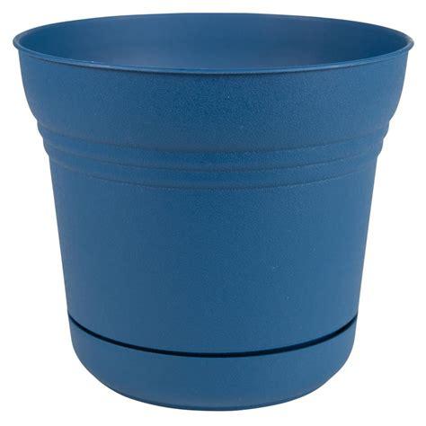 home depot plastic planters bloem saturn 14 in sea plastic planter sp1431 the