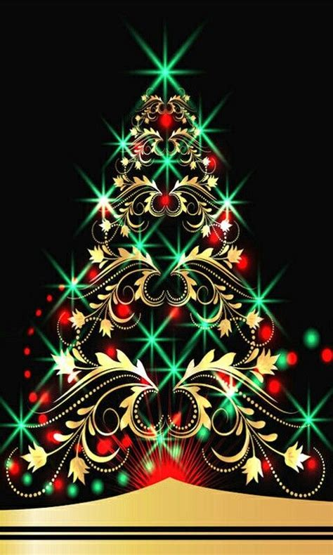 New year, christmas, christmas tree, snowman. Cell phone Wallpaper / Background re-sizeable for all ...