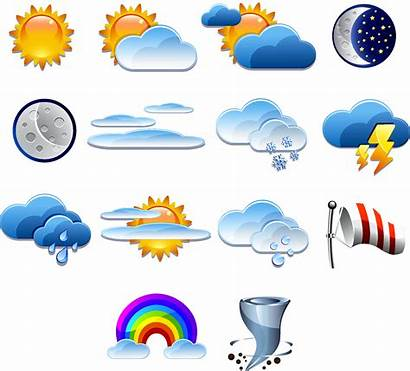Weather Forecast Clipart Icon Sun Forecasting Graphic