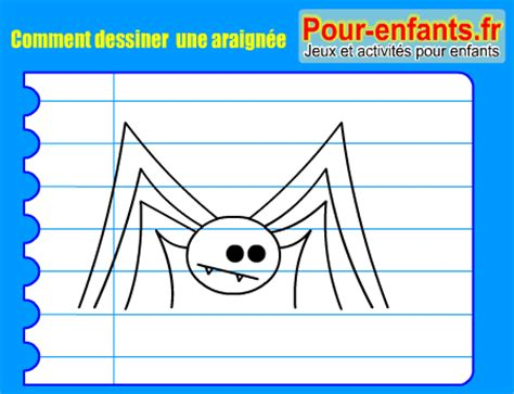 dessiner une toile d araignee apprendre 224 dessiner pas 224 pas araign 233 e dessin araignee cours faciles par 233 gratuits