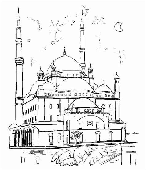 Moskee Kleurplaat by Mosqu 233 E 17 B 226 Timents Et Architecture Coloriages 224