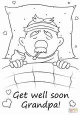 Soon Coloring Well Grandpa Pages Feel Better Printable Hope Drawing Print Paper Getcolorings Colorings Creative Puzzle Getdrawings Work Crafts Awesome sketch template