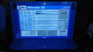 Millermatic 251 How Much Is It Worth