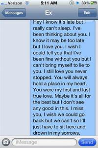 Text Messages Ex Boyfriend Picture to Pin on Pinterest ...
