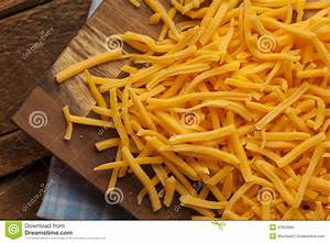 Organic Shredded Sharp Cheddar Cheese Stock Photo - Image ...