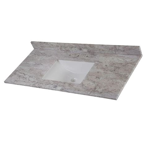 Home Decorators Collection 49 In W Stone Effects Single