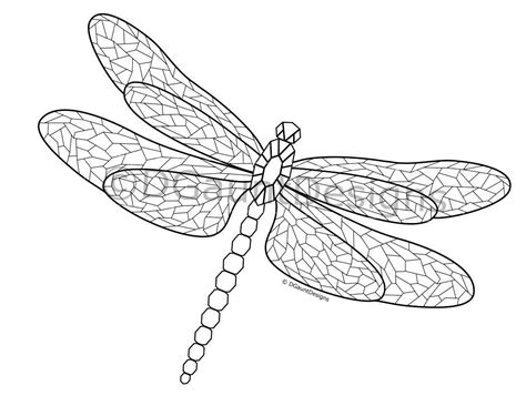 38 Dragonfly Coloring Pages For Kids Dragonfly Coloring