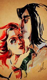 Severus and Lily by AleksandrZenin.deviantart.com   Snape ...