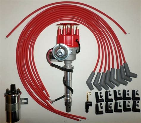 Bbc Chevy Small Hei Distributor Coil Red