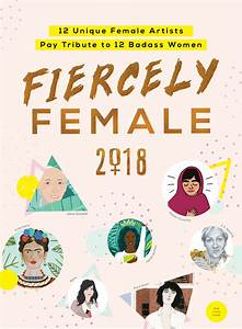 2018 Fiercely Female Wall Poster Calendar | NewSouth Books