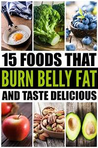 15 foods that burn belly