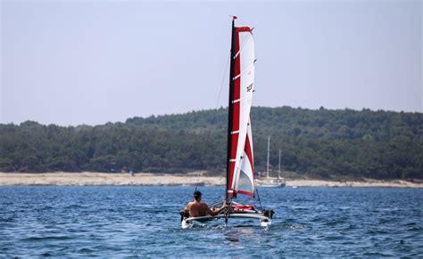 Xcat Sailboat by Xcat Sail Multi Sport Catamaran Car Topable For Sailing