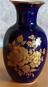 Echt Kobalt Vase : kleine vase blau mit goldfarbenen blumen echt kobalt ~ Michelbontemps.com Haus und Dekorationen