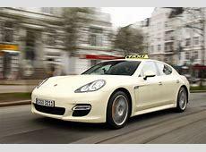 Porsche Panamera Turbo Taxi Can a 'Ring Version be Far