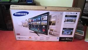 Samsung 40 Led 1080p Smart Tv Unboxing  U0026 Review