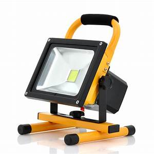 Portable outdoor flood light camping w
