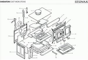 Exploded Diagram For Stovax Sheraton Stove
