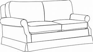 Sofa Bw Clip Art at Clker.com - vector clip art online ...