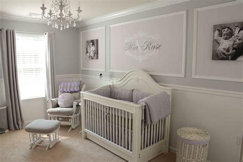 lavender and grey nursery