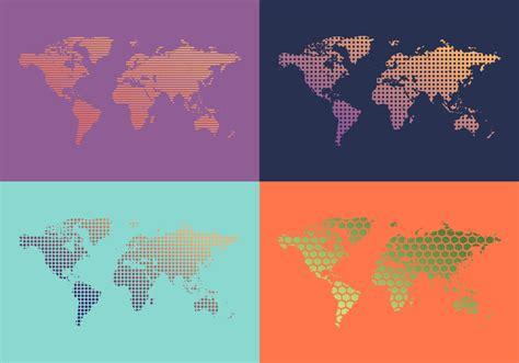 world map patterns vector   vector art